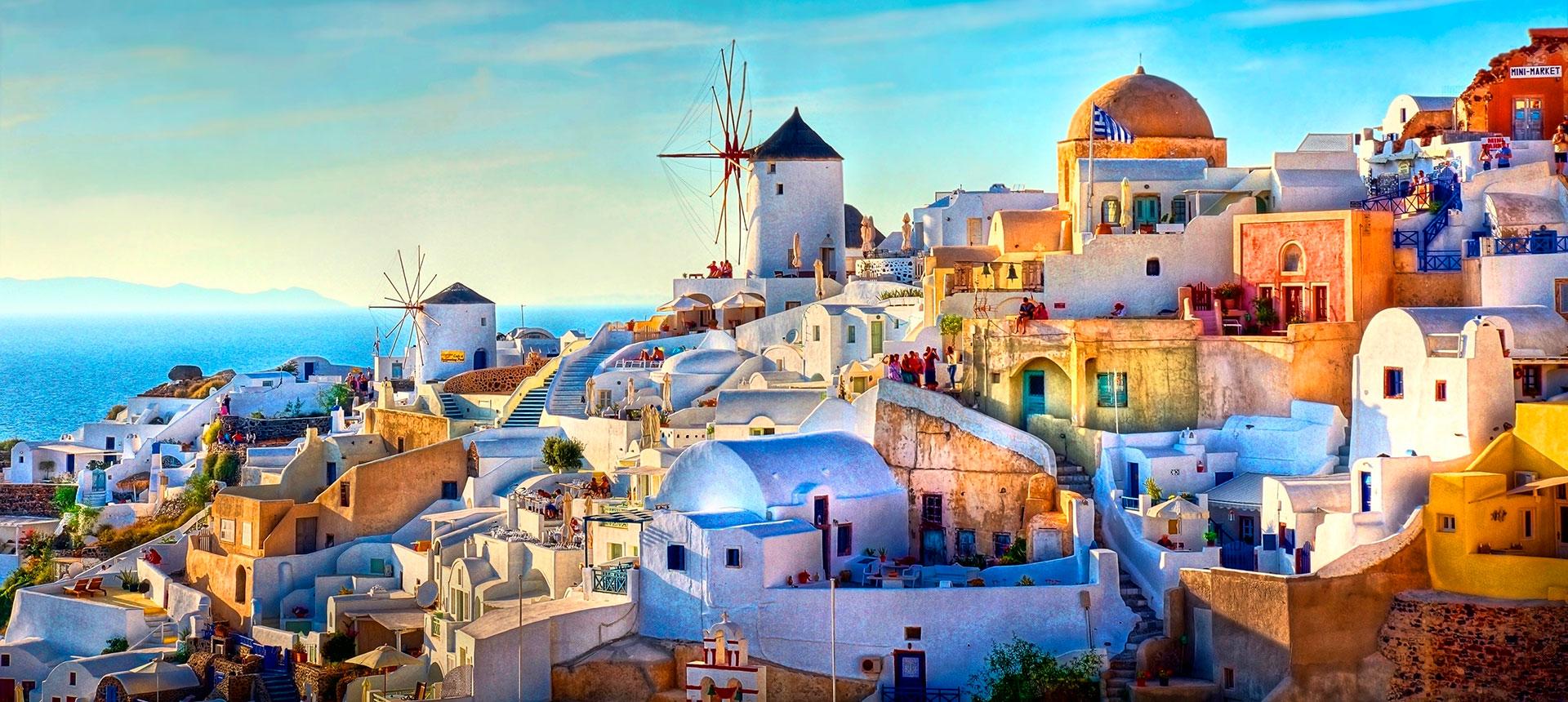 Europa y Grecia con crucero- 20 días